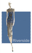 PANTONE 17-4028 Riverside - Lela Rose