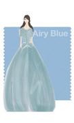 PANTONE 14-4122 Airy Blue - Noon by Noor