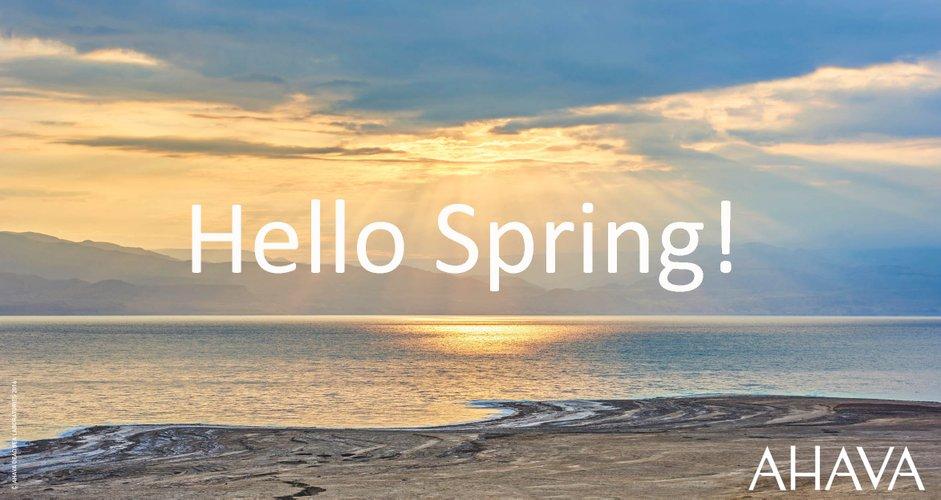 Ein Frühlingsgruß von AHAVA